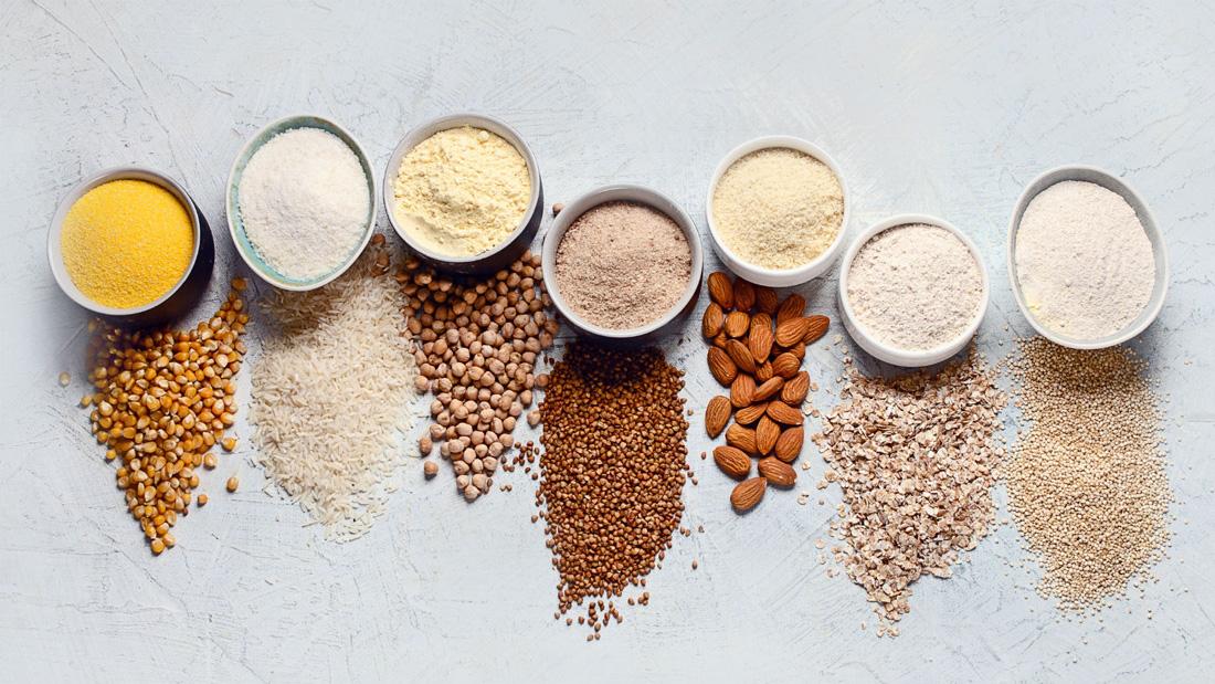 10 вида здравословно брашно без глутен
