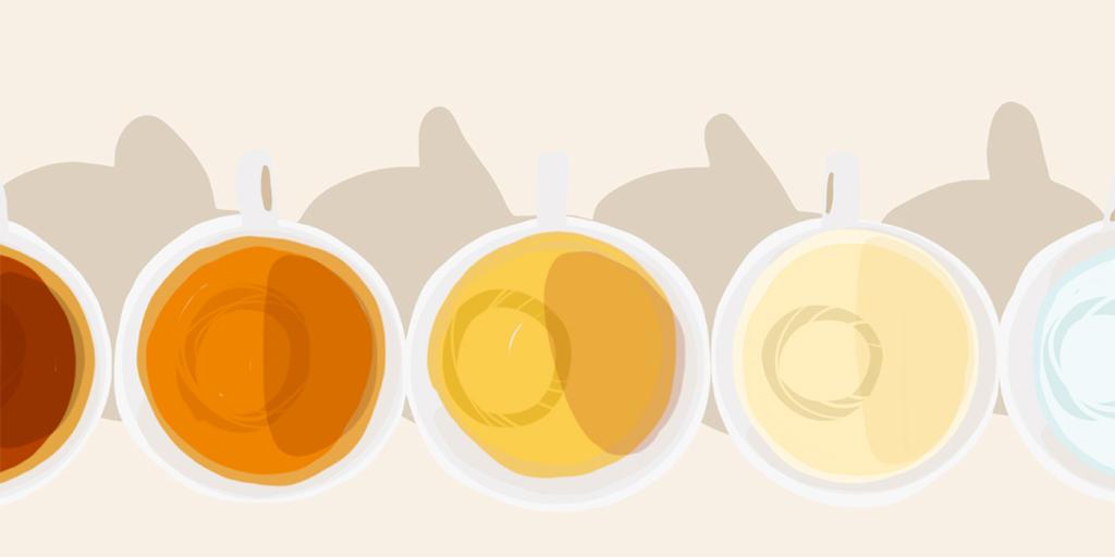цветовете на урината